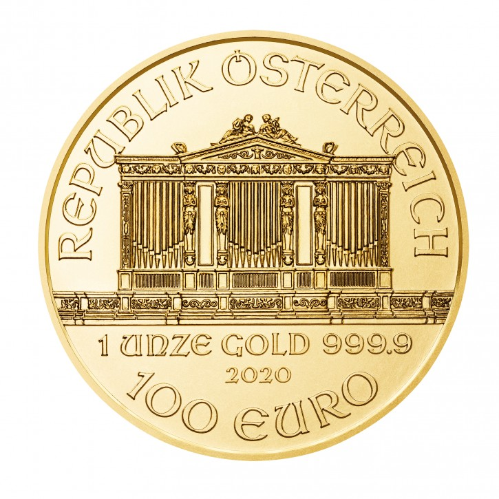 Philharmoniker Goldmünze 1Oz