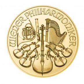 Philharmoniker Goldmünze 1Oz